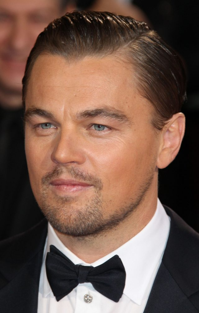 Short-and-sleek-hairstyle-leonardo-dicaprio Old 1950's Hairstyles for Men [Will Return in 2018]