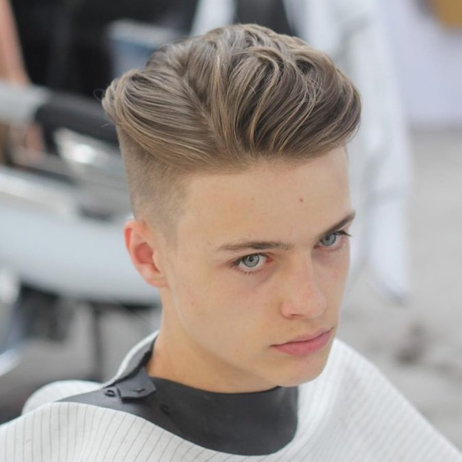 Side-part-hairstyle-men-2-675x675 Old 1950's Hairstyles for Men [Will Return in 2018]