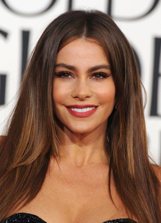 Sofia-Vergara-eyebrows-675x934 Top 10 Inspired Celebrity Makeup Ideas for 2018
