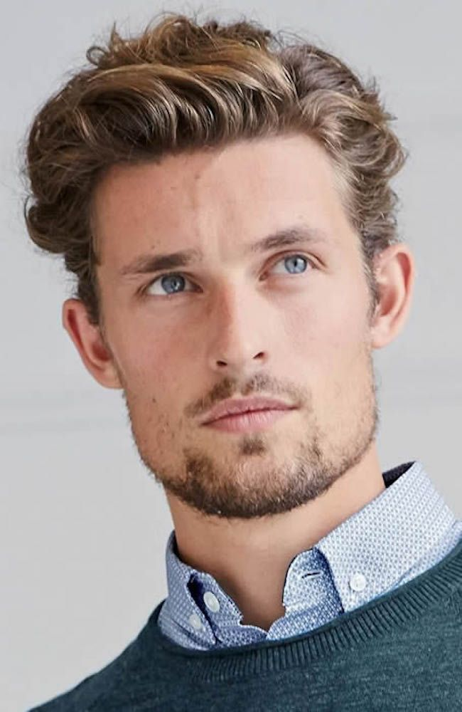curly-quiff-hairstyle-men Old 1950's Hairstyles for Men [Will Return in 2018]