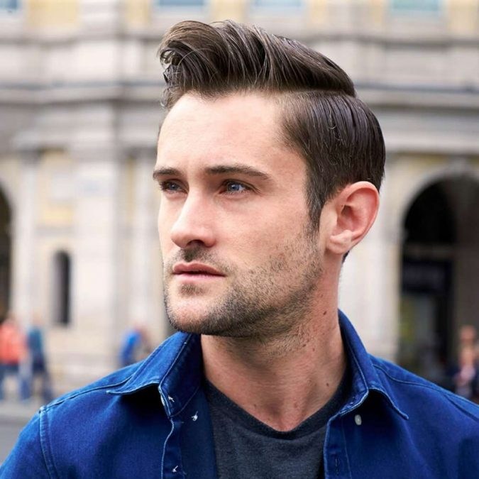 deep-Side-Part-hairstyle-men-675x675 6 Fashionable Hairstyles Every Man in His 30's Should Nail
