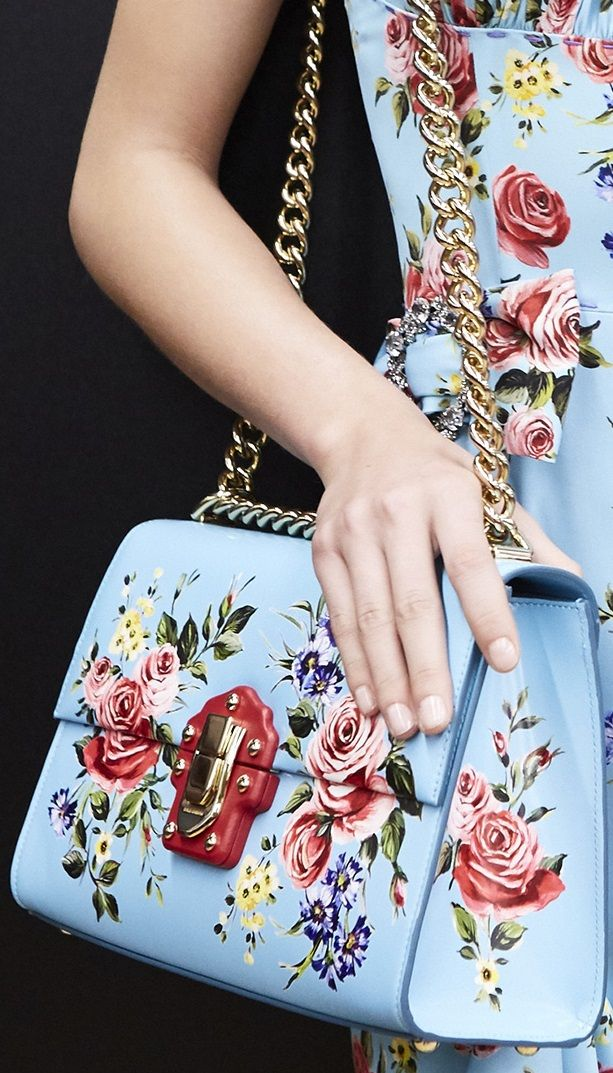 floral-handbags-dolce-gabanna 20+ Newest Handbag Trends in 2018