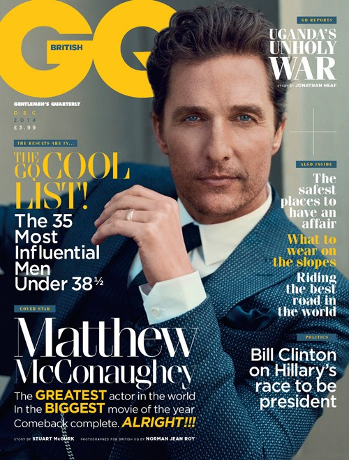g Your Guide To Nail Matthew McConaughey's Hairstyles