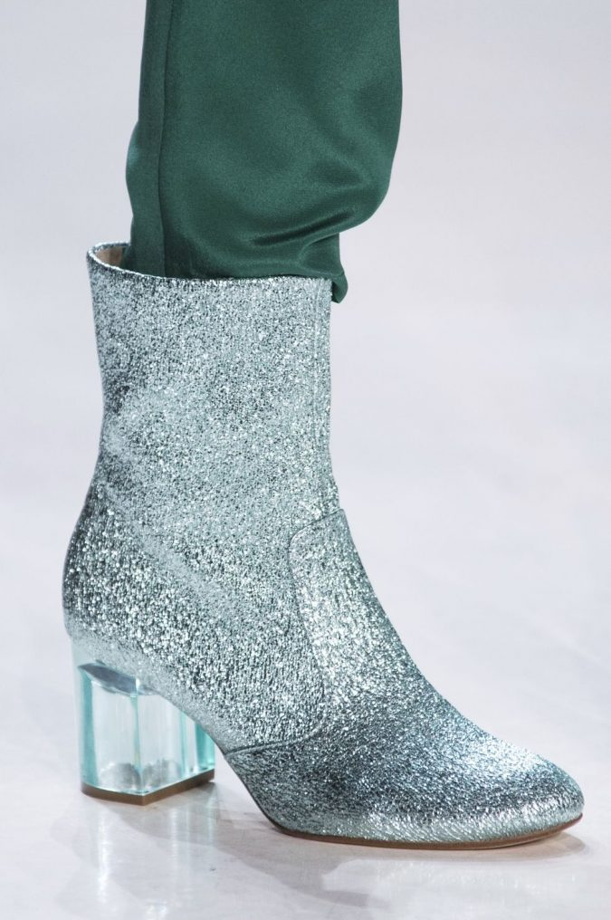 glitter-boot-women-shoes-2018-marcel-ostertag-675x1016 +8 Catchiest Women's Shoe Trends to Expect in 2018