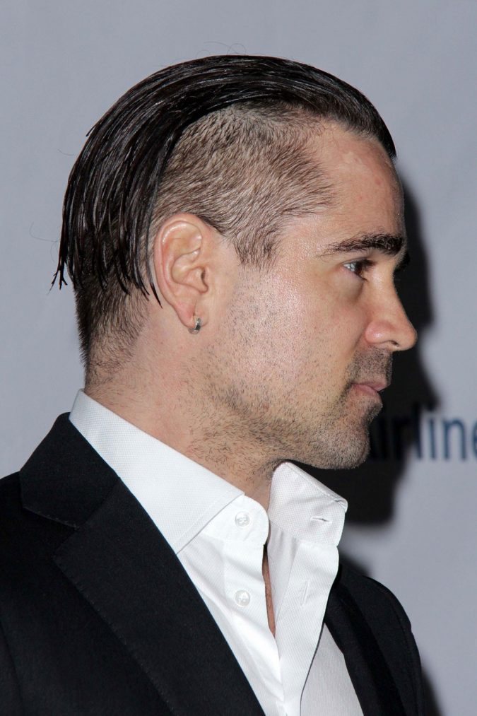 greasy-hairstyle-men-Colin-Farrell-Haircut-675x1013 Old 1950's Hairstyles for Men [Will Return in 2018]