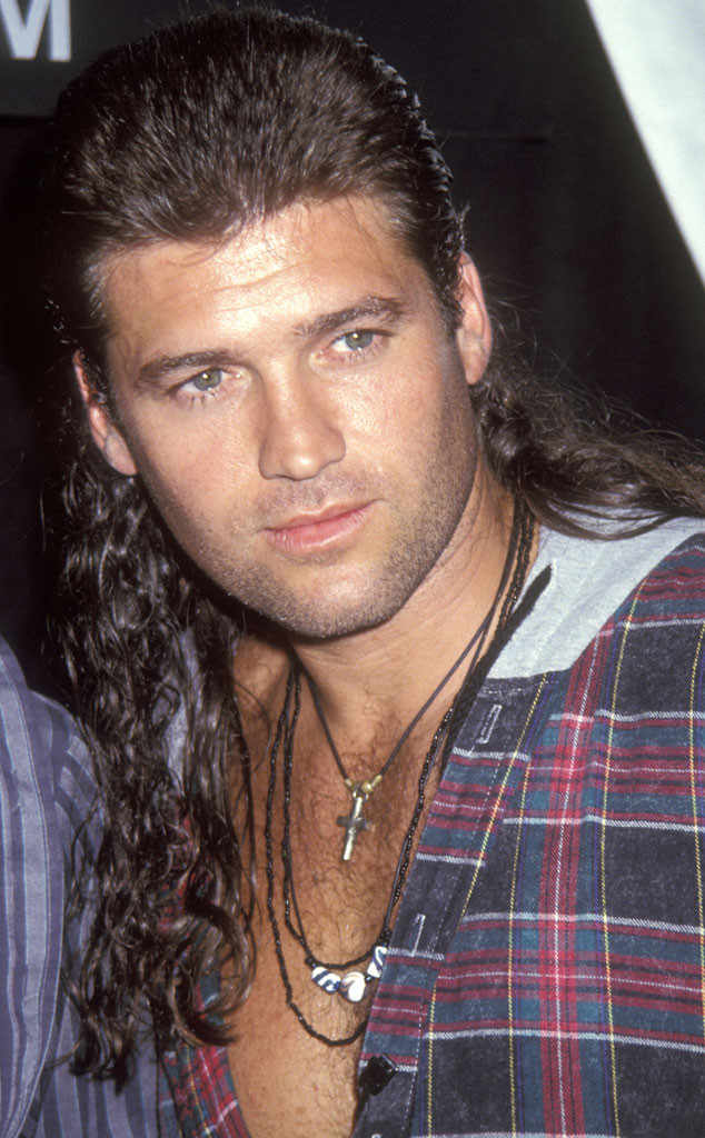 mullet-haircut-men-Billy-Ray 5 Mind-blowing 80's Men's Hairstyles