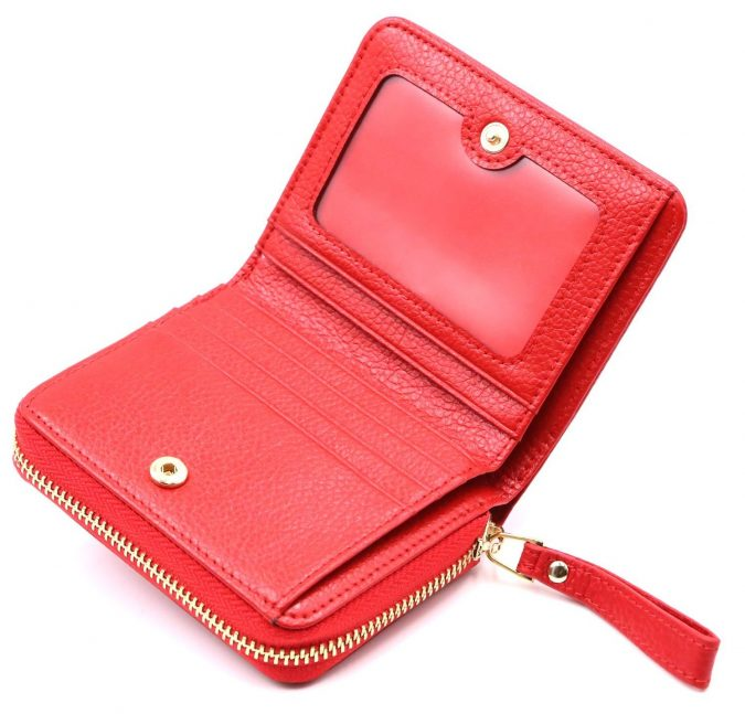 red-Accordion-wallet-675x647 Best 7 Leather Wallet Patterns Trending in 2018