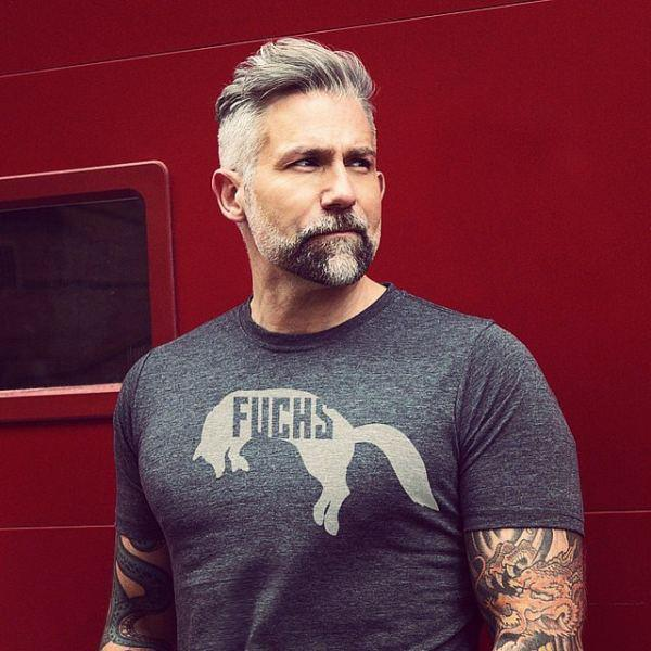 ton 8 Fashionable Hairstyles For Every Man In His 40's
