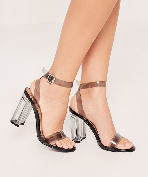 transparent-heels-shoe-trends-2018 +8 Catchiest Women's Shoe Trends to Expect in 2020