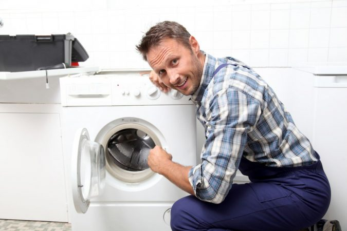 Appliance-Repair-in-Barrie-technician-675x450 Top 10 Washing Machine Parts That Need Repair in Canada