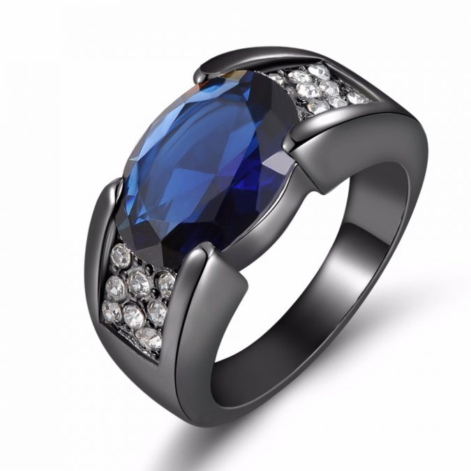 Blue-Sapphire-ring-Jewelry-gift-675x675 Top 10 Best Wedding Anniversary Gift Ideas for 2020 (Updated List)
