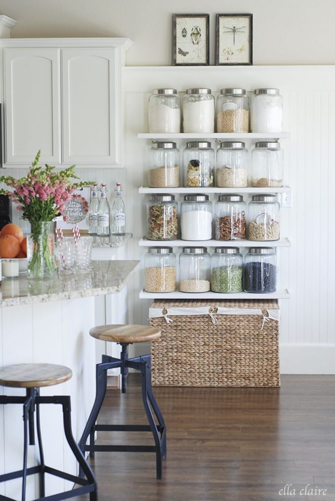 Bookshelves-may-be-reused-in-the-kitchen-to-store-cereal-boxes-675x1009 Top 6 Tips For Renovating Your Home In Limited Budget