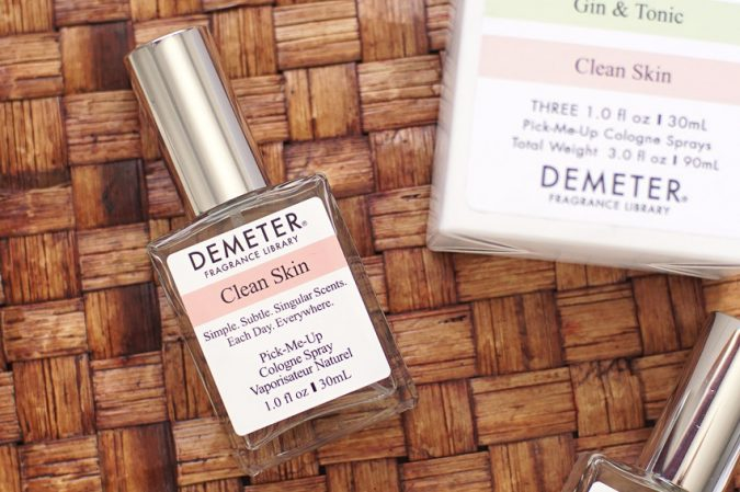 Demeter-clean-skin-perfume-675x449 Top 10 Hottest Spring & Summer Fragrances for Women 2018