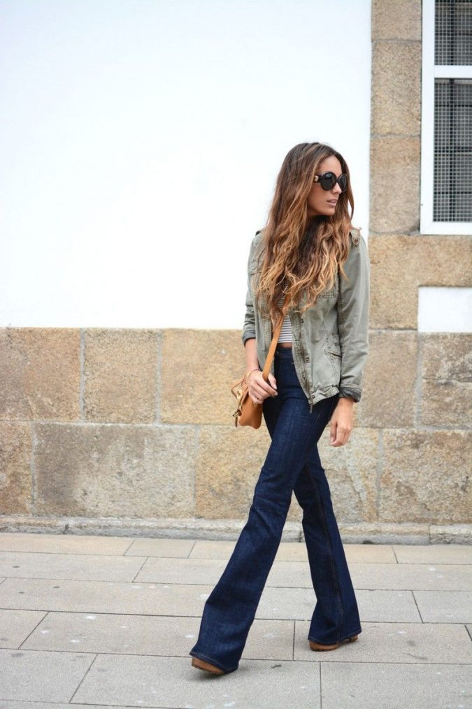 Flare-Jeans-women-outfit-675x1013 12 Outdated Fashion Trends Coming Back in 2020