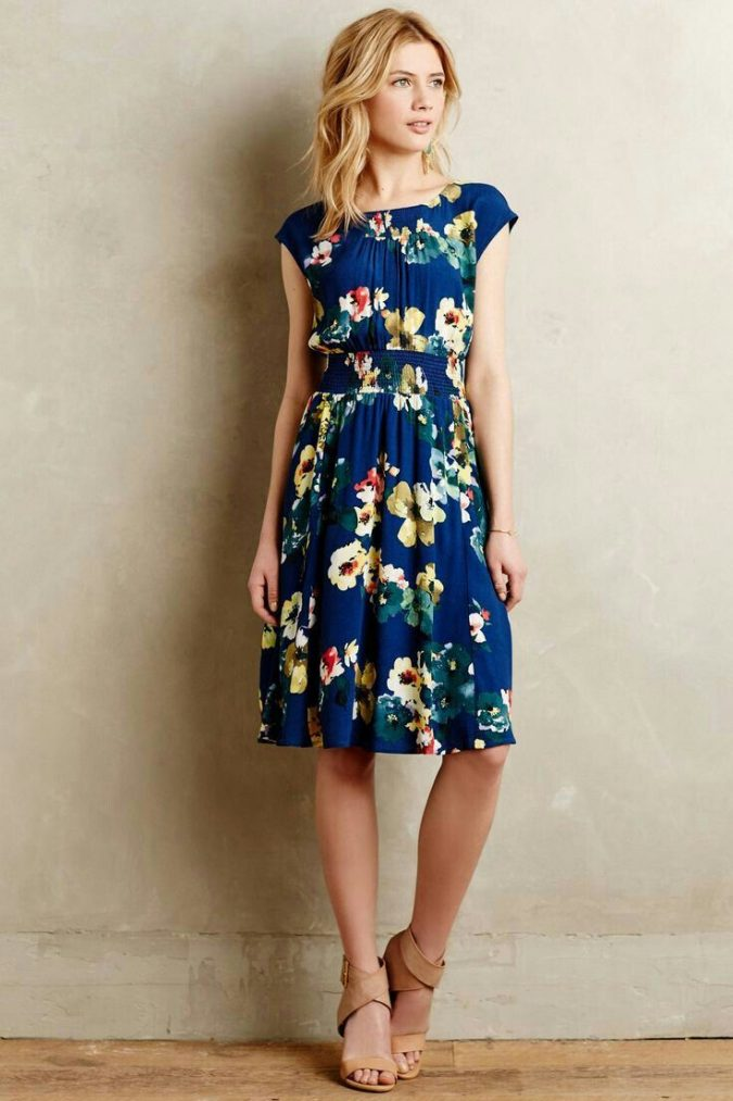 Floral-cocktail-dresses-women-summer-outfit-675x1013 Top 10 Lovely Spring & Summer Outfit Ideas for 2018