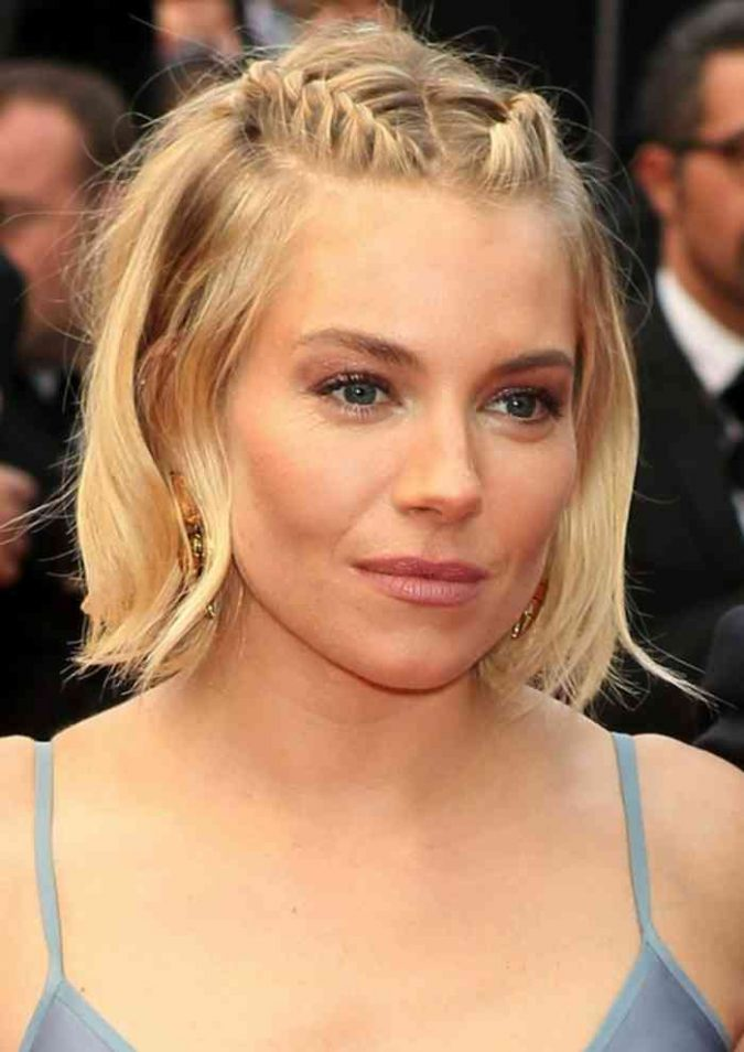 French-braid-bob-hairstyle-675x954 Top 10 Professional Hairstyles for Blonde Women in 2020