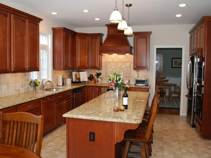 Granite-kitchen-countertops-2-675x506 Top 10 Hottest Kitchen Design Trends in 2018