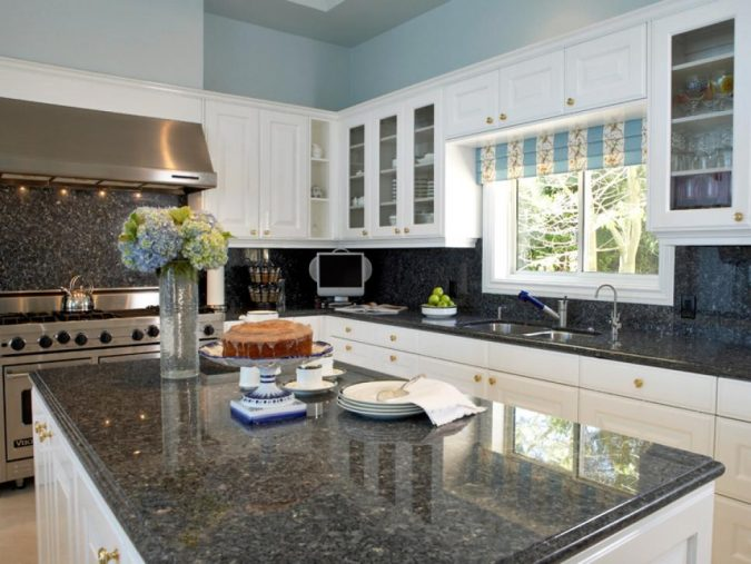 Granite-kitchen-countertops-675x507 Top 10 Hottest Kitchen Design Trends in 2020