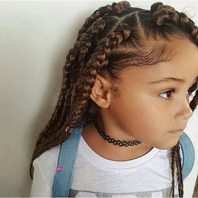 Long-hair-braids-hairstyle-675x675 Top 10 Cutest Hairstyles for Black Girls in 2020
