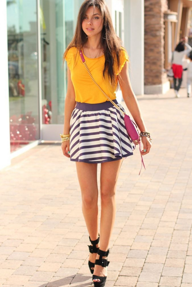 Mini-Skirt-women-summer-Outfit-675x1008 Top 10 Lovely Spring & Summer Outfit Ideas for 2018