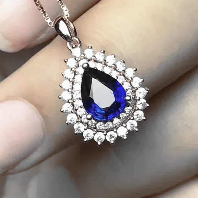 Natural-Blue-Sapphire-Pendant-Gift-675x675 Top 10 Best Wedding Anniversary Gift Ideas for 2018