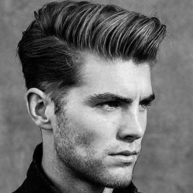 Pompadour-hairstyle-for-men-675x675 Top 10 Classic 20's Hairstyles for Men [Coming Back in 2018]