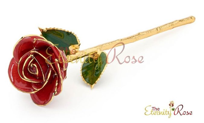 Red-Glazed-Eternity-Rose-gift-675x407 Top 10 Best Wedding Anniversary Gift Ideas for 2020 (Updated List)