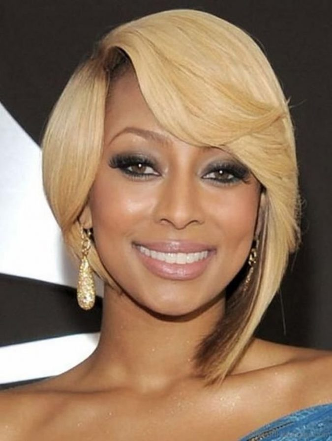 Short-Blonde-Rounded-Bob-for-black-women-675x897 TOP 10 Stylish Bob Hairstyles for Black Women in 2018