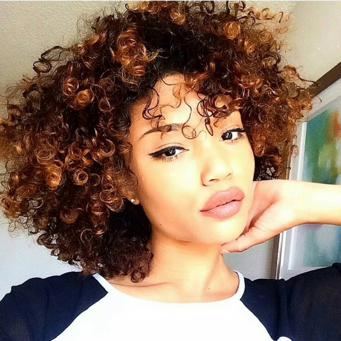 Short-Curly-Hairstyle-for-black-women-2-675x675 Top 10 Cutest Short Haircuts for Black Women in 2018