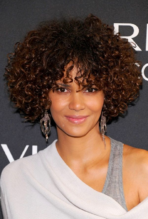 Short-Curly-Hairstyle-for-black-women Top 10 Cutest Short Haircuts for Black Women in 2020