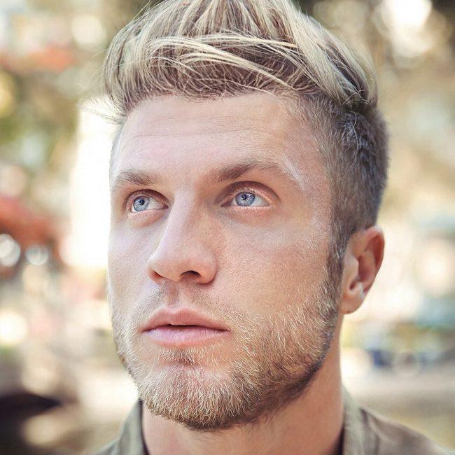 Shorter-blonde-Beard Top 10 Most popular Beard Colors Trending in 2020