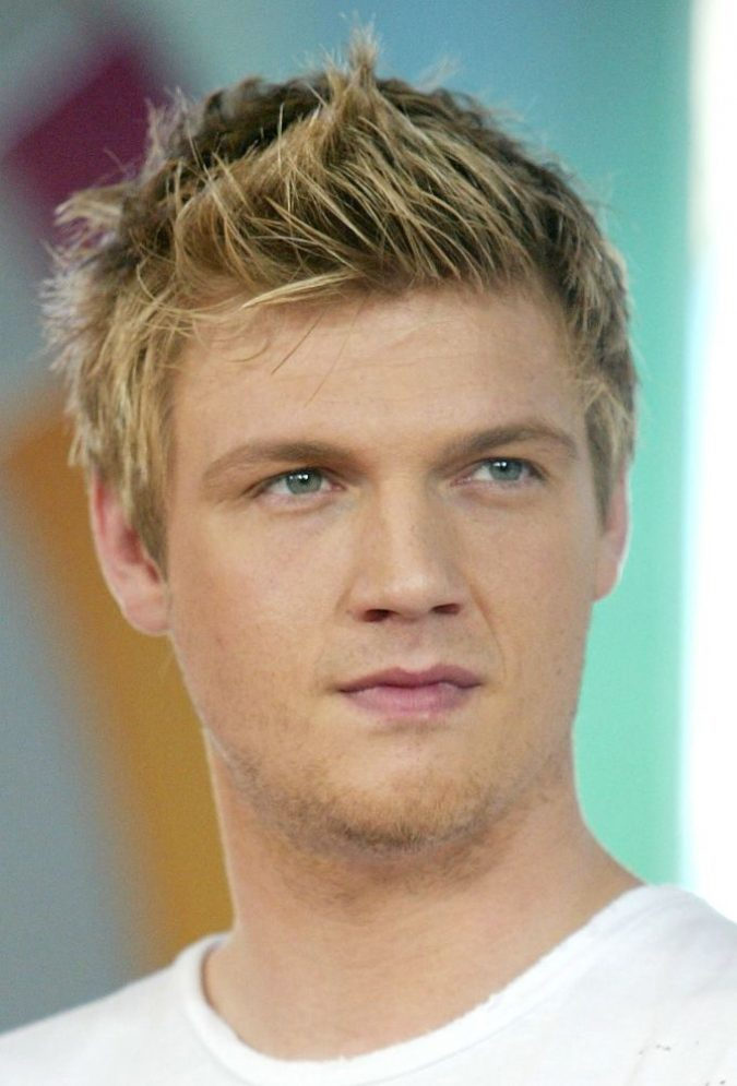 Spiky-hairstyle-for-blonde-men-1-675x995 Top 10 Hairstyles for Guys with Blonde Hair [2020 Trends]