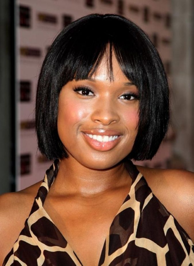 Stright-Bob-Hairstyle-for-black-women-1-675x923 Top 10 Cutest Short Haircuts for Black Women in 2018