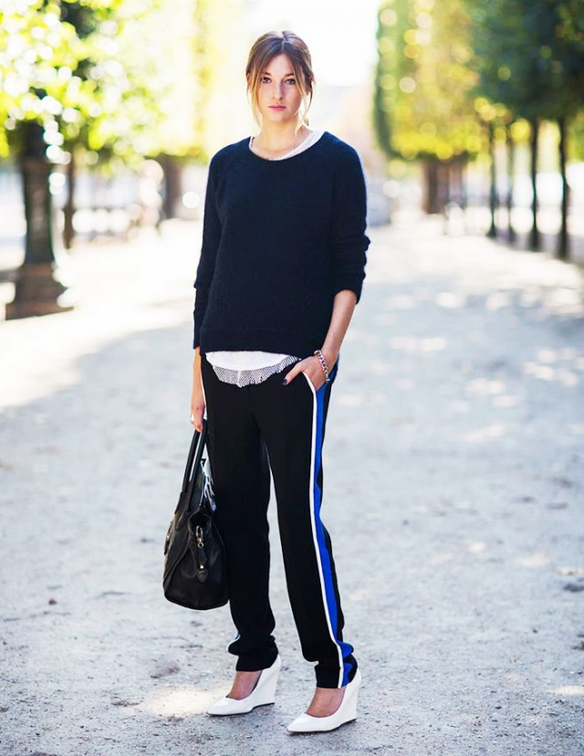 Track-Pants-outfit-for-women 12 Outdated Fashion Trends Coming Back in 2021