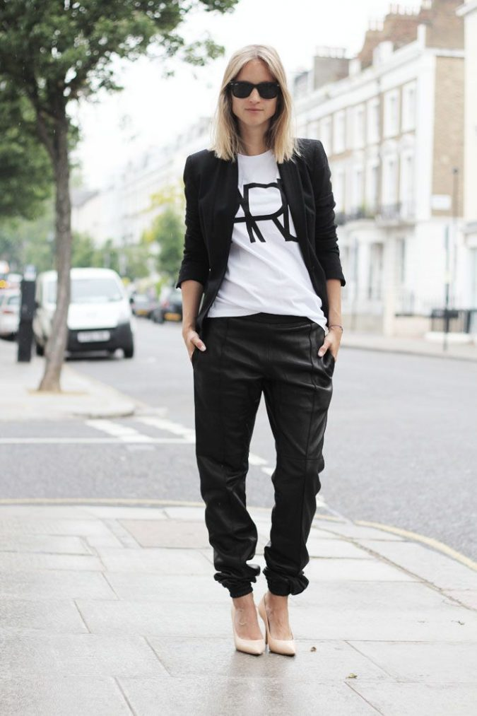 Track-Pants-women-outfit-675x1013 12 Outdated Fashion Trends Coming Back in 2020