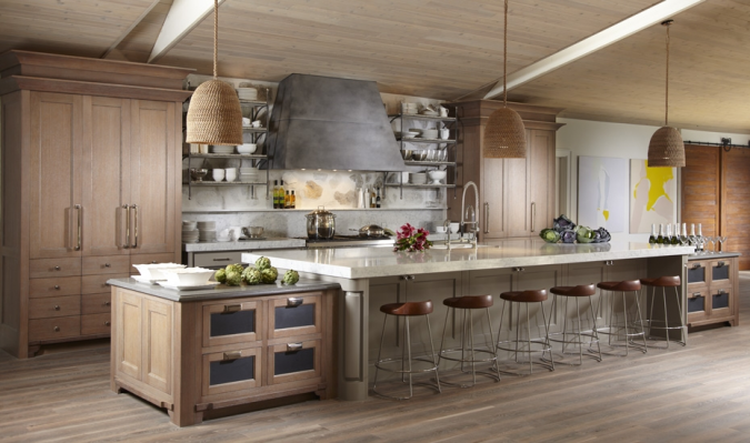 Transitional-designed-kitchen-675x399 Top 10 Hottest Kitchen Design Trends in 2020