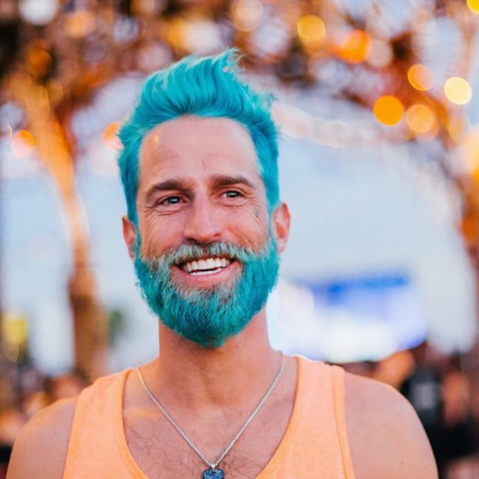 Turquoise-hair-and-beard-675x675 Top 10 Most popular Beard Colors Trending in 2018