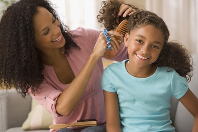 back-to-school-natural-hairstyles-for-black-girls-675x450 Top 10 Cutest Hairstyles for Black Girls in 2020