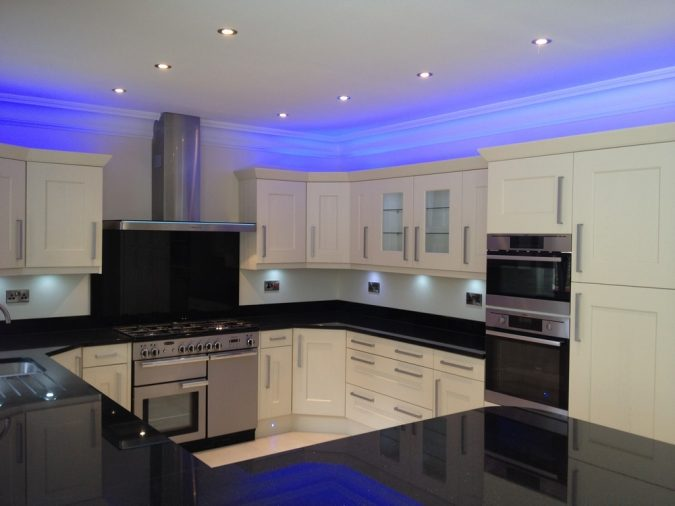 contemporary-kitchen-design-led-ceiling-light-fixtures-675x506 Top 10 Hottest Kitchen Design Trends in 2020