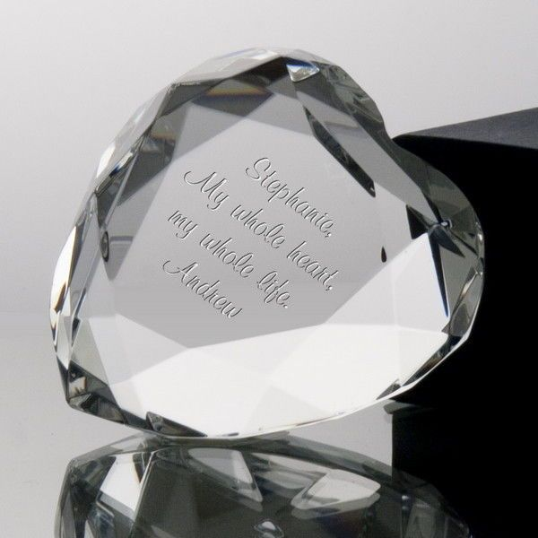 crystal-paperweight-gift Top 10 Best Wedding Anniversary Gift Ideas for 2020 (Updated List)
