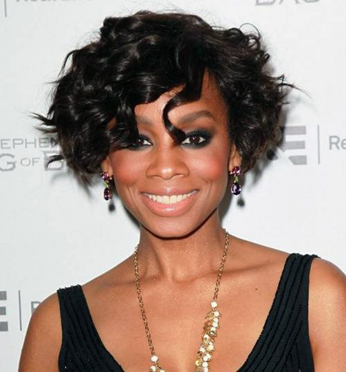 curly-updos-for-black-women-675x726 Top 10 Cutest Short Haircuts for Black Women in 2020