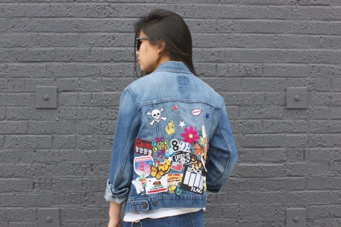 customized-denim-jacket-patches-women-outfit-675x450 12 Outdated Fashion Trends Coming Back in 2020