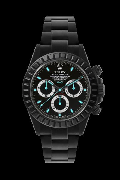 customized-watch-daytona-noir-mat Top 10 Benefits of Customizing Your Luxury Watch