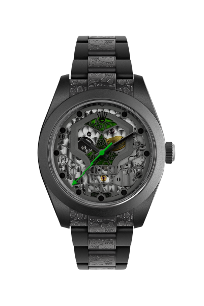 customized-watch-rolex-milgauss-noir-mat-skull Top 10 Benefits of Customizing Your Luxury Watch