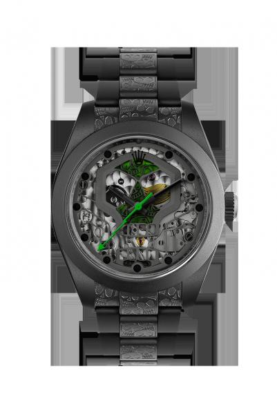 customized-watch-rolex-milgauss-noir-mat-skull Top 10 Benefits of Customizing Your Luxury Watch