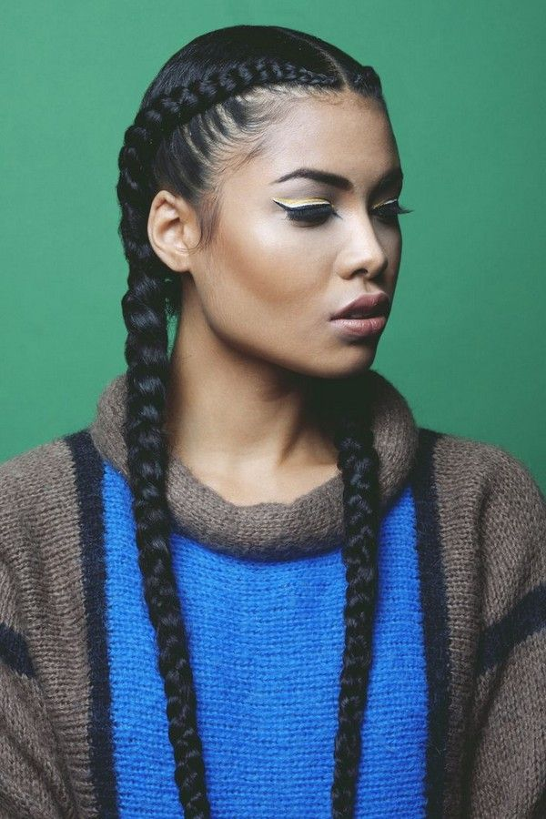 french-braid-hairstyle Top 10 Cutest Hairstyles for Black Girls in 2018