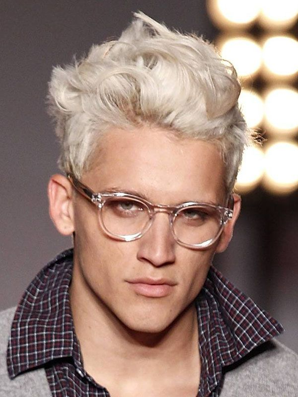 front-wave-hairstyle-for-blonde-men Top 10 Hairstyles for Guys with Blonde Hair [2018 Trends]