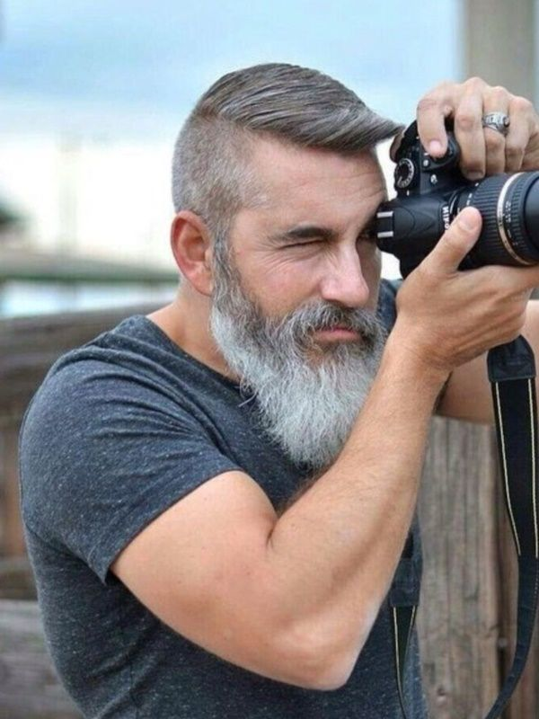 grey-beard Top 10 Most popular Beard Colors Trending in 2020
