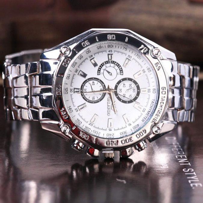luxury-men-stainless-steel-quartz-wrist-watch-gift-675x675 Top 10 Best Wedding Anniversary Gift Ideas for 2020 (Updated List)