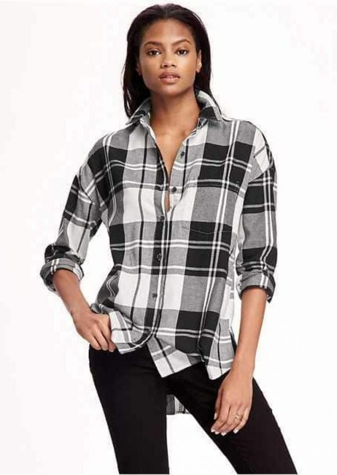 old-navy-boyfriend-flannel-shirt-for-women-675x950 12 Outdated Fashion Trends Coming Back in 2021